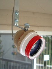 QuickCam mounted horizontally